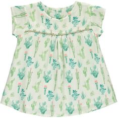 The cactus prints on this dress are super adorable and I love pastel stuffs