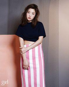 Cheetah, Kisum and Yuk Ji Dam - Vogue Girl Magazine June Issue '15