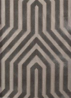 Schumacher Upholstery Fabric Vanderbilt Velvet in Dove Gray - 2.875 Yards