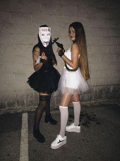 Halloween Costume Teenage Girl, Halloween Costumes Women Scary, Costumes For Teenage Girl, Couples Halloween, Best Friend Halloween Costumes, Cute Halloween, Halloween Outfits, Healthy Halloween, Halloween Ideas