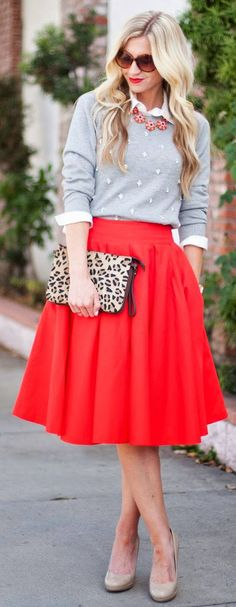 A Fashionable Woman: Winter Skirts Part II | Fonda LaShay // Design #holiday