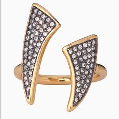 Stella & Dot Pave Horn Ring
