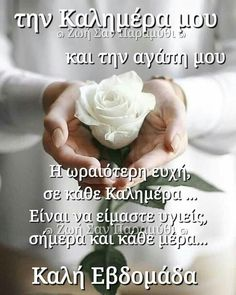 Greek Love Quotes, Happy Day, Good Morning, Spiritual, Seasons, Gifts, Amor, Bebe, Inspiring Sayings