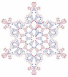 Dzień 4. - śnieżynka najpiękniejsza - Szkoła Szydełkowania