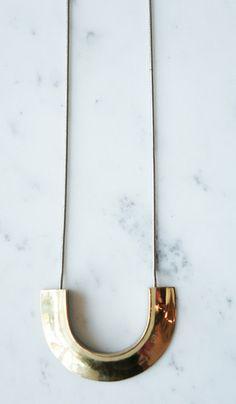 Quarry Brass Kalat Necklace
