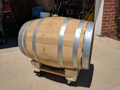 Barrel Stand Build From Furniture Dolly - Gremlyn's Beer Blog #homebrewing #homebrew #beer #craftbeer #brewingbeer #beerbrewing #recipe #DIY #hops #mead #homebrewer