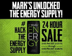 Holy cats this is so exciting I've hot mine, my hubby, sons all so excited to get started sharing the ENERGY- woo hoo! All my loyals and dts get on it or if want it let me know- happy dancing all day #synergyitworks text/message 509-979-6039 (had to throw that out there as so excited, don't normally do!!!). Only a couple hours left..........