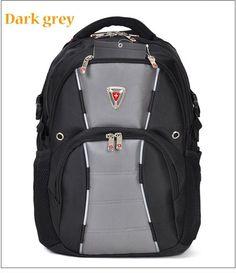 Multi-purpose Unisex swissgear backpack GREY