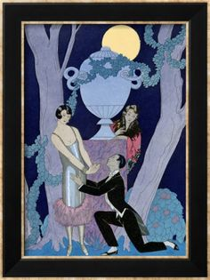 Art Print by George Barbier