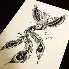 Fênix blackwork disponível pra tattoo ;). Horários e agendamentos 99142-5820. #fenixtattoo #tattoos #draw #drawing #drawing2me #blackwork #black #phoenix #cool #myart #estudos #study #beautiful #tattoo #ink #inked #amazing #vilaolimpia