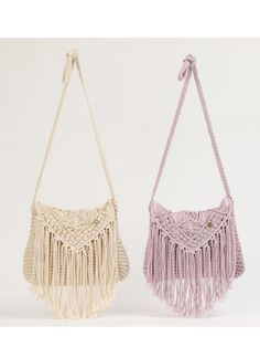 "- If you search for ""macrame bag brand"" in Yahoo! search [image], you will surely find the answer you want. Crochet Clutch, Crochet Handbags, Crochet Purses, Macrame Purse, Macrame Knots, Crochet Shoulder Bags, Bag Pattern Free, Boho Bags, Knitted Bags"