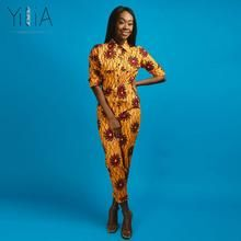 Womens Rompers Jumpsuit Summer 2018 New Women African Print Clothing Long Sleeves Casual Sexy Fashion Party Wide Leg Pants African Print Clothing, Men Style Tips, Rompers Women, Wide Leg Pants, Latest Trends, Jumpsuit, Mens Fashion, Clothes For Women, Yellow