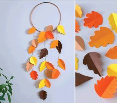 Fall Crafts For Kids, Diy For Kids, Diy And Crafts, Diy Dream Catcher For Kids, Art N Craft, Diy Origami, Mothers Day Crafts, Diy Organization, Halloween Diy