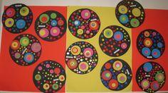 Des ronds comme Kandinsky (2) - Le jardin d'Alysse