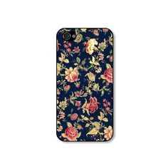 Rubber iphone 4 case  Vintage Embroidery Floral by CaseHive $19.99