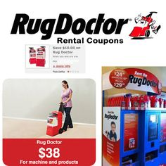 rug doctor machine rental coupon