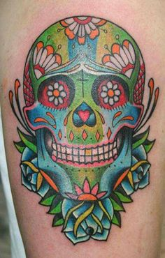 Calavera old school