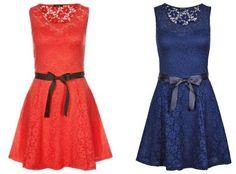 Morgan Roro Vestido Informal Red vestidos y faldas Vestido Roro red Morgan informal Noe.Moda