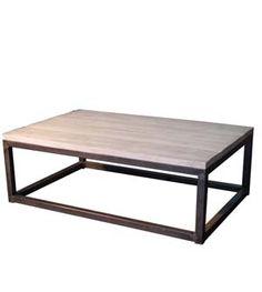 Mesa de salón en hierro sobre de madera pino envejecido. la base es en forma cúbica y lleva tacos de goma para no dañas el suelo, se fabrica con sobres de madera liso en roble y piso y también en sobre de madera alistonado de pino rústico Múltiples combinaciones de acabados y sobres disponibles.