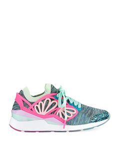 Puma x Sophia Webster Pearl Cage Graphic Knit Trainer Sneaker, Multi