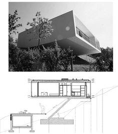 Eduardo Souto de Moura / Dos viviendas en Ponte de Lima #Portugal