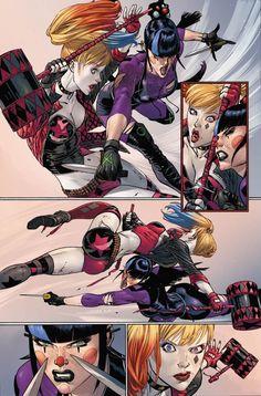 Arte Dc Comics, Joker Dc Comics, Comic Book Characters, Comic Character, Comic Books Art, Comic Art, Joker Comic Book, Joker Y Harley Quinn, Harey Quinn