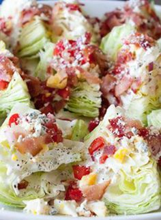Wedge Salad Appetizer