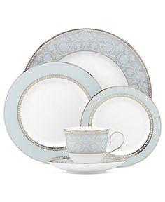 Lenox Dinnerware Westmore 5 Piece Place Setting - Fine China - Dining u0026 Entertaining - Macyu0027s  sc 1 st  Pinterest & expensive Dinnerware Sets   Bone China Dinnerware and Fine China ...