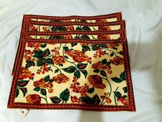 NWT Milli Home Plasemats (4) Fall Autumn Colors #millihome