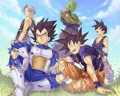 Dragon Ball Z Wallpaper: *Goku & Vageta* Anime Plus, 5 Anime, Anime Japan, Anime Naruto, Anime Girls, Dragon Ball Z, Bd Comics, Anime Comics, Art 157