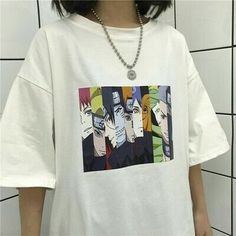 Naruto Cool T Shirt Unisex Japanese Anime Tshirt Street Wear Summer Large Size Short Sleeve Tshirt Men Size S Color 1 Anime Inspired Outfits, Anime Outfits, Cute Outfits, Fashion Outfits, Naruto Und Sasuke, Anime Naruto, Half Sleeves, Types Of Sleeves, Cool T Shirts