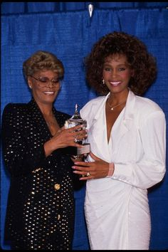 whitney houston and dionne warwick relationship