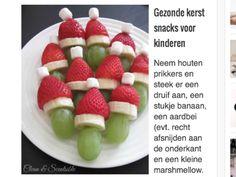 Gezonde kerst snack voor Kerstviering op school