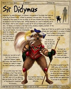 Labyrinth Guide - Sir Didymus  by =Chaotica-I  Fan Art / Digital Art / Painting & Airbrushing / Movies & TV	©2011-2012 =Chaotica-I
