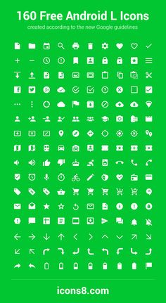 World's First Android L Icon Pack Android L has the whole new icons: smaller, simpler and rounded. So we've put the World Cup aside and star. Icon Pack Android, Android L, Android Icons, Free Android, Android Material Design, Android Design, L Icon, Icon Design, Web Design
