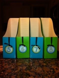 Get cute, colorful book boxes without spending a lot of money.