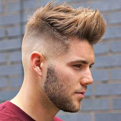Spiked Front with Low Skin Fade