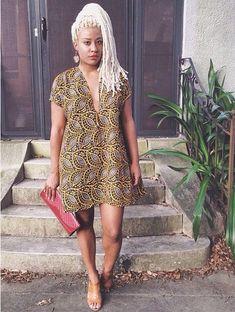 ღ ♡ ♡ ღ ~ Ghanaian fashion ~DKK African Fashion Ankara, Ghanaian Fashion, African Inspired Fashion, African Print Fashion, Africa Fashion, Ethnic Fashion, Look Fashion, Fashion Prints, Fashion Outfits