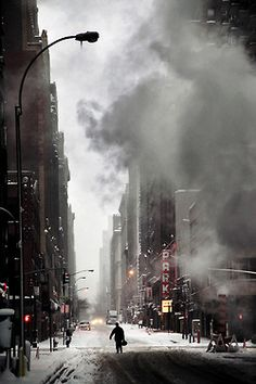 Christophe Jacrot - Winter in Town #9 (New York City).