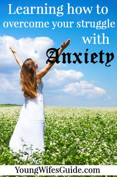 I struggle with anxiety. I have for as long as I can remember. But through prayer and memorizing God's Word, I've been able to learn how to deal with that anxiety. http://youngwifesguide.com/overcoming-my-struggle-with-anxiety/