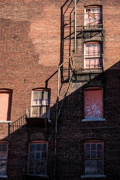 Fire Escape In West Bottoms Kansas City By Pitts Photography, $20.00