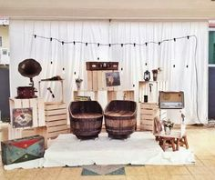 Wedding Pelamin Dais Diy Pallet Rustic