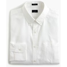 Ludlow cotton oxford shirt in white ($83) via Polyvore featuring tops, men tops/outerwear, cotton shirts, special occasion tops, white button down collar shirt, holiday shirts and white oxford