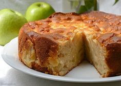 Real Food Recipes, Cake Recipes, Yummy Food, Apple Desserts, Apple Recipes, Banana French Toast, Sweet Dough, Pan Dulce, Just Cakes