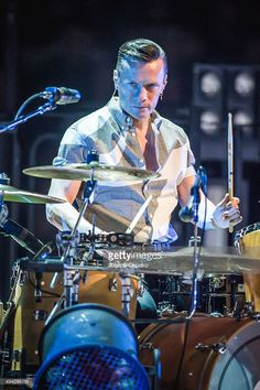 Larry Mullen Jr of performs at The Arena on October 2015 in. The Edge, U2 Songs, Mundo Musical, Irish Rock, Paolo Nutini, Bono U2, Larry Mullen Jr, U 2, Greatest Rock Bands