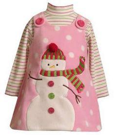 836c606cfcd Image detail for -Snowman Christmas Dresses Girls Easter Dresses