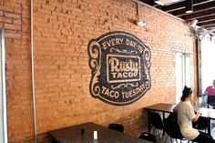 Rusty Taco Denton TXBranding, Design, Sign Painting, Hand ...