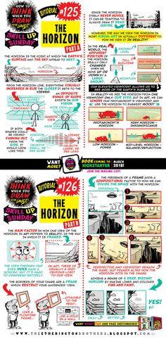 How to draw THE HORIZON tutorial by STUDIOBLINKTWICE.deviantart.com on @DeviantArt
