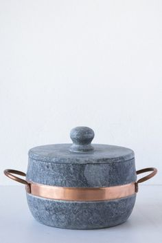 brazillian soapstone 1.5L pot