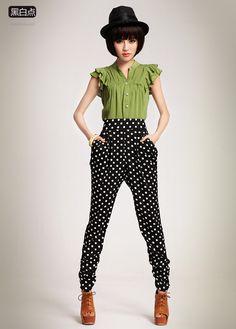 Love the pants.